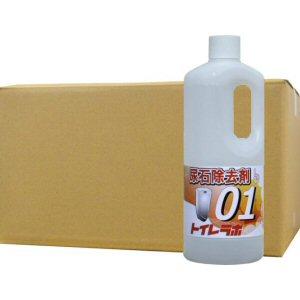 尿石除去剤 トイレラボ01 1L×12本 業務用 エフロ 尿石 強力 分解除去 トラップ清掃