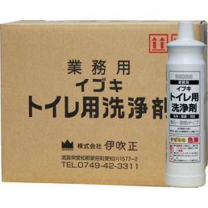 イブキトイレ用洗浄剤 800ml×15本 酸性 業務用