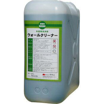 外壁用洗剤 ウォールクリーナー 20L ポリ容器入