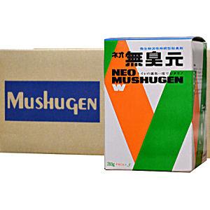 浄化槽用消臭剤 ネオ無臭元W 200g×3袋/箱×20箱 悪臭対策 トイレ用 脱臭剤 微生物活性 持続型