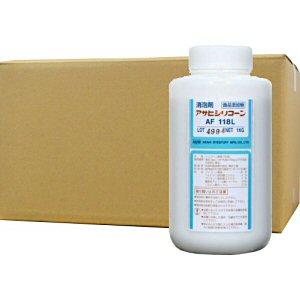 消泡剤 アサヒシリコーン AF118L 1L×10本 食品添加物[排水処理施設・下水・水処理施設]