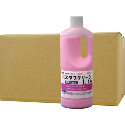 バスタブクリーン 1.1kg×6本 研磨剤配合洗浄剤[手作業用]【北海道・沖縄・離島配送不可】