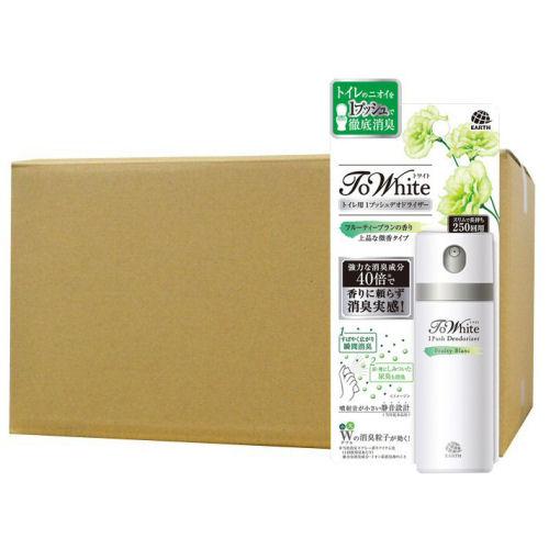 ToWhite トワイト トイレ用1プッシュデオドライザー フルーティーブランの香り 50ml×24本セット