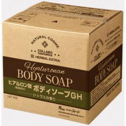 [ゼミド×ハーバルエクストラ] ヒアルロン酸ボディソープGH シトラスの香り 20kg