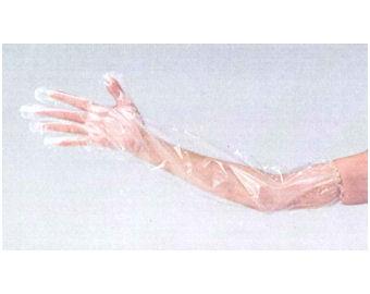 ロングPE手袋 50枚/箱×40箱 [2000枚] 【送料無料】