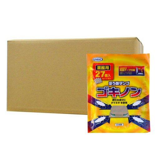 ゴキブリ駆除 ホウ酸ダンゴ ゴキノン業務用27個入り×80個ケース 誘引毒餌剤