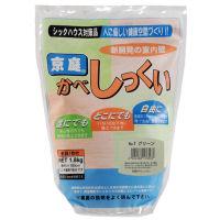 家庭化学工業 京庭かべしっくい [カラーNO.1 グリーン] 1.8kg×6袋 【送料無料】