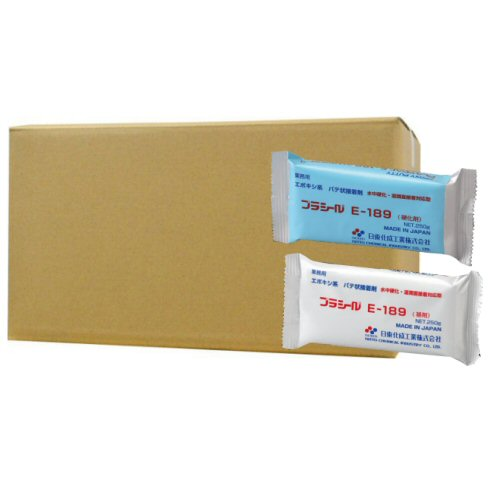 日東化成工業 プラシールE-189セット×10個[基剤250g・硬化剤250g]