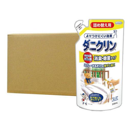 ダニクリン 消臭 除菌タイプ 詰め替え用 230ml×24個ケース UYEKI(ウエキ)