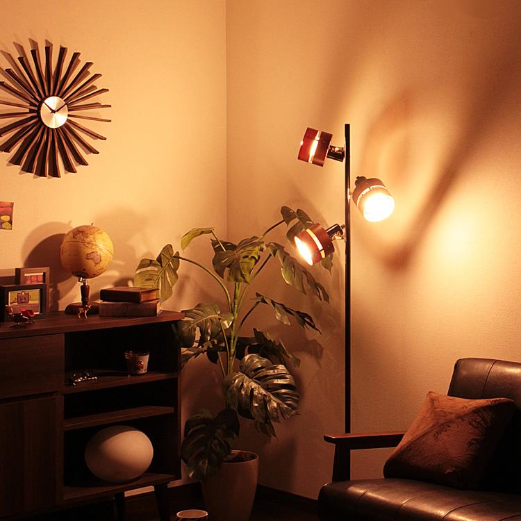 【送料無料・一部地域を除く】照明 LED 対応 フロアライト 3灯 レダ フロア【ライト ブルックリン 西海岸 フロアランプ 間接照明 電気スタンド スタンドライト おしゃれ 北欧 フロアスタンド 寝室 モダン 一人暮らし リビング用 居間用 インテリア 新生活】