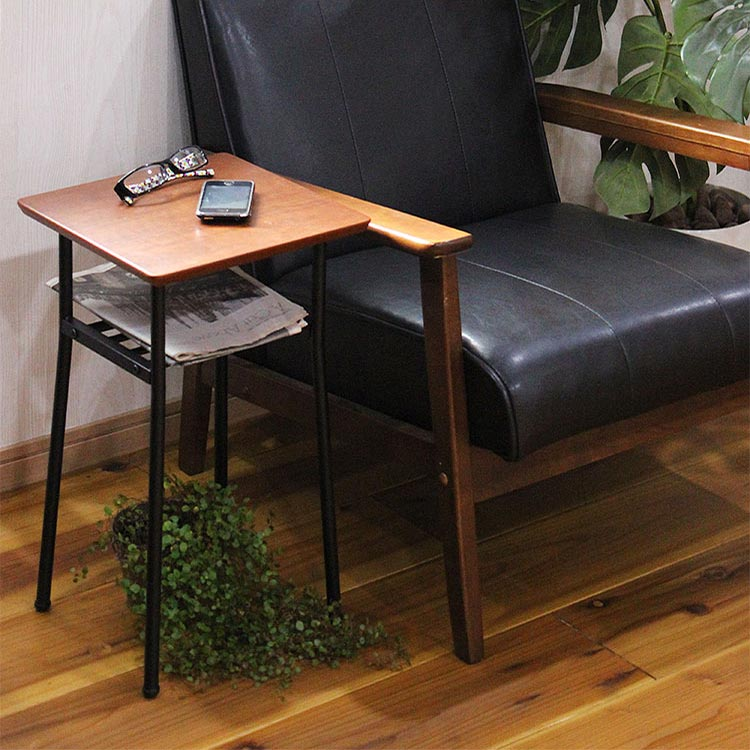 ソファ 木製 寝室 サイドテーブル リビング サイドテーブル 天然木突板 モダン