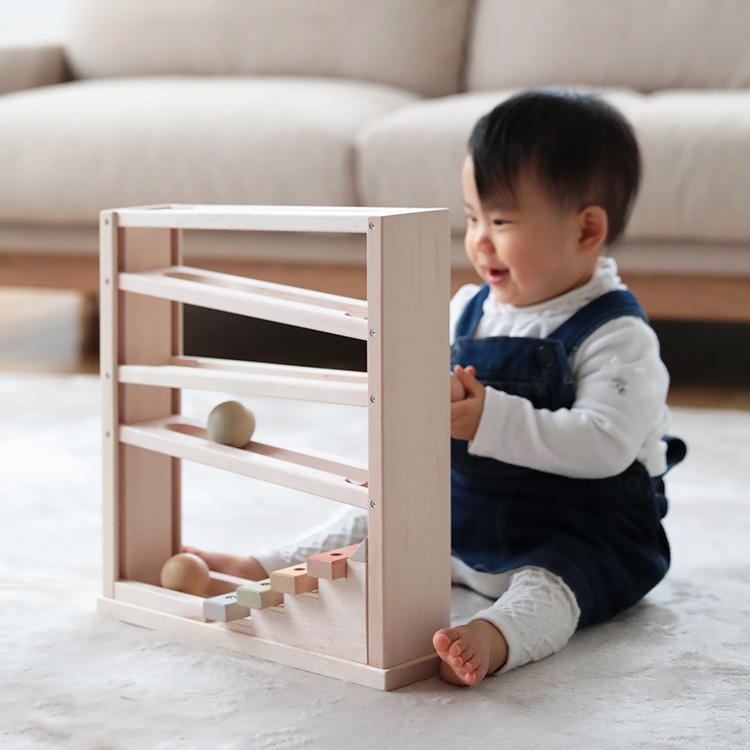 エド・インター NIHONシリーズ 音色スロープ【エドインター 木製玩具 木のおもちゃ おもちゃ 音 楽器 おもちゃ 3歳 かわいい 知育玩具 出産祝い 内祝い 誕生日 ベビー 赤ちゃん 子供 キッズ 日本製 テレワーク 在宅】