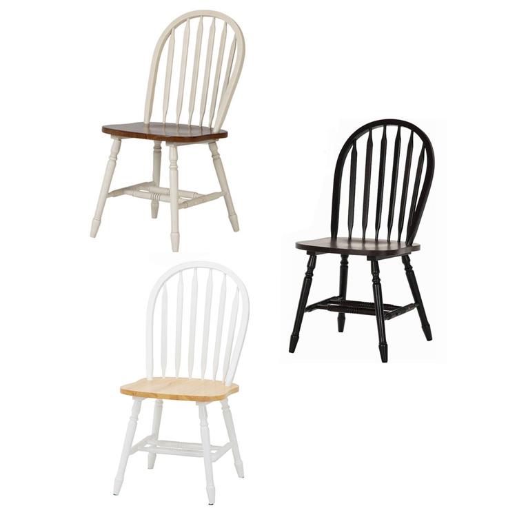 ダイニングチェア 2脚セット マキアート【椅子 いす イス チェア チェアー ダイニングチェアー ダイニング 背もたれ セット ダイニングセット 木 木製 カントリー シンプル 北欧 おしゃれ家具 かわいい テイスト リビング dining】