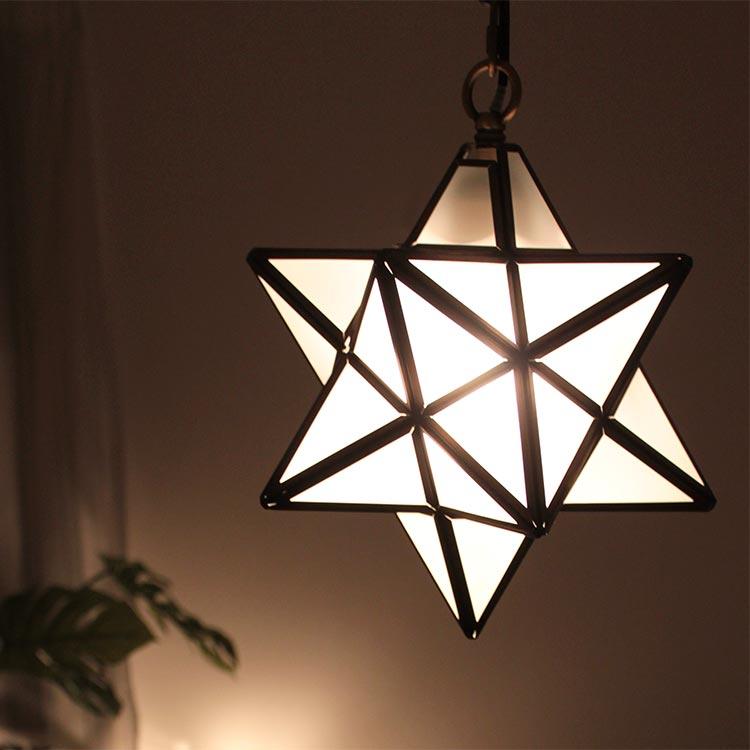 照明 ペンダントライト 1灯 エトワール フロスト