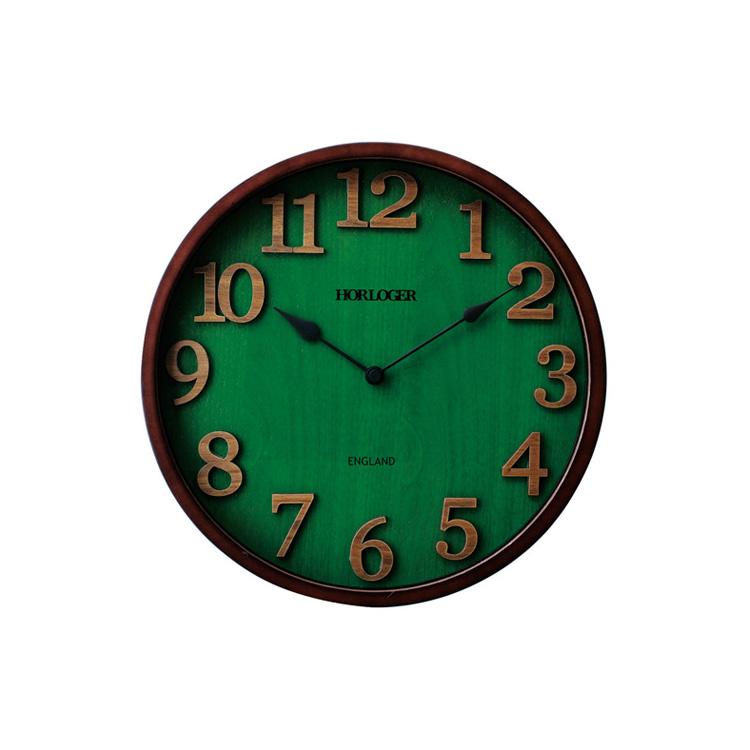掛け時計 電波時計 イングランド インターフォルム【壁掛け時計 時計 おしゃれ かわいい デザイン 北欧 壁時計 クロック 壁掛け 雑貨 リビング ダイニング アンティーク レトロ ウォールクロック 木製 電波 電波掛け時計 プレゼント 新生活】