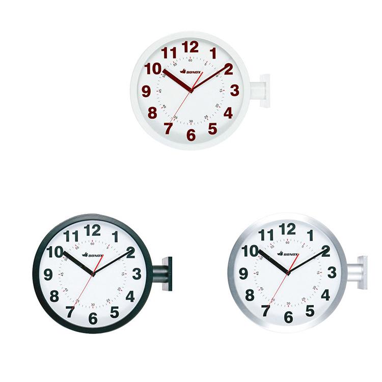 時計 ダブルフェイス ウォールクロック ダルトン DULTON S82429【壁掛け時計 壁時計 アナログ クロック インテリア雑貨 西海岸 ブルックリン インテリア 雑貨 シンプル おしゃれ かわいい 北欧 デザイン 女性 男性 ギフト プレゼント 新生活】