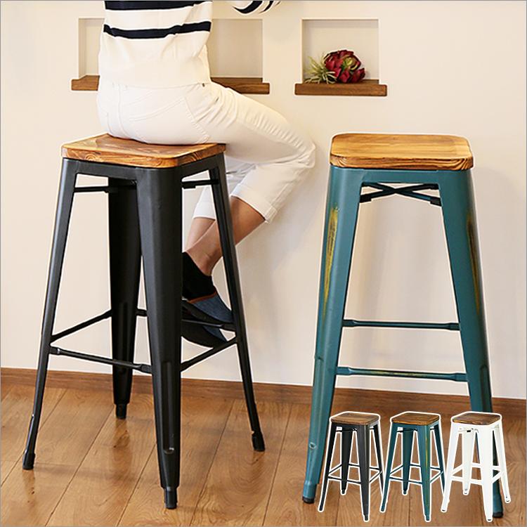 ヴィンテージ カウンター チェア バーチェア 背もたれなし 『1年保証』 キッチン ダイニング バー チェアー 木製 スチール 一人暮らし おしゃれ ブルックリン ブラック ハイチェア 椅子 NEW ARRIVAL クランツ 在宅ワーク テレワーク スツール おしゃれ家具 シンプル カウンタースツール 西海岸 カフェ風 一人用 レトロ いす アンティーク 男前