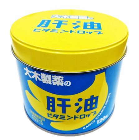 【6個セット 送料無料】パパーゼリー シリーズ大木製薬の肝油ビタミンドロップ 120粒大木製薬 パパービタミン