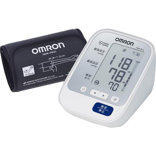 【医療機器】オムロン 上腕式血圧計 HEM-8713朝活 健康維持