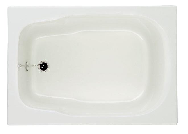 INAX グラスティN浴槽バスタブ【1000サイズ】【1方半エプロン(埋込式)】【メーカー直送品】ABN-1001A