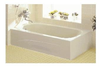 INAX 浴槽 YBA-1302MB 【メーカー直送品】【洋風バス】【1300サイズ】【2方全エプロン】【バスタブのみ】