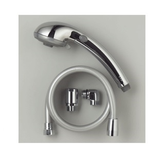 KVK 3wayフルメタルストップシャワー Z981A 節水省エネ+3way シャワー(ねじ式シャワーエルボ付)