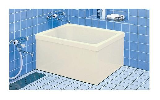INAX 浴槽バスタブ PB-801B/L11 【メーカー直送】【ポリエック】【800サイズ】【2方半エプロン(埋込式)】