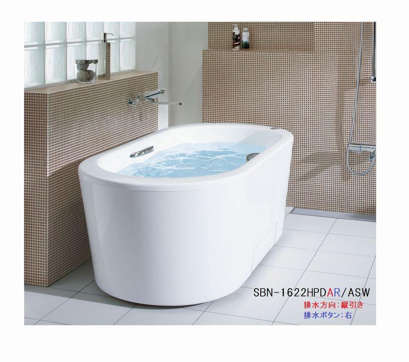INAX イデアトーン浴槽バスタブ SBN-1622HPD 【1600サイズ】【全周全エプロン】【メーカー直送品】