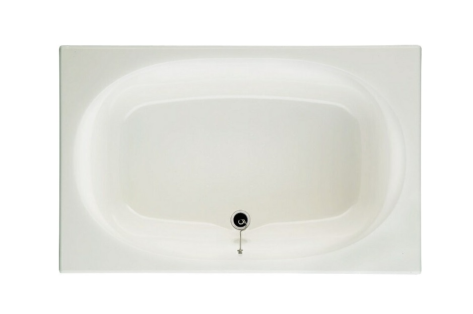 INAX グラスティN浴槽 ABN-1201A 【1200サイズ】【1方半エプロン(埋込式)】【メーカー直送品】【バスタブのみ】