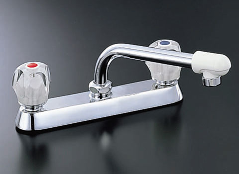 INAX ツーハンドル混合水栓(13mm)ツーホールタイプ[一般水栓]