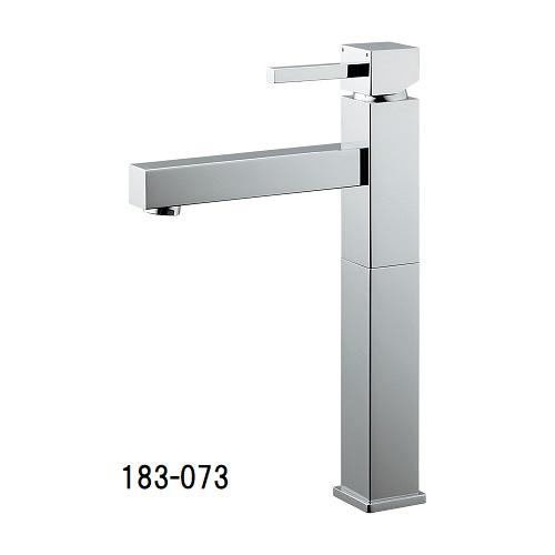 カクダイ シングルレバー混合栓(トール) 183-073