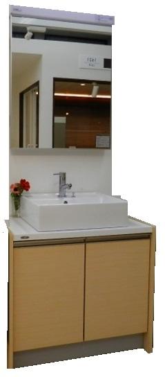 低価格で大人気の 【展示品】トクラス 洗面化粧台レスト:快適水空館-木材・建築資材・設備