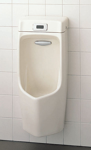 INAXのトイレ センサー一体形ストール小便器 AWU-507RP【メーカー直送】【壁掛タイプ】【塩ビ排水管用】【100V仕様】