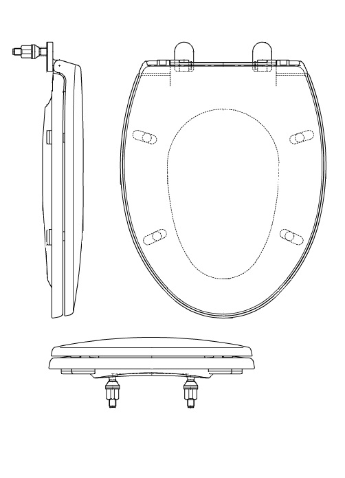 Strange Toto Normal Toilet Seat Standard Type Tc291 Large Size Tc290 Regular Sized Normal Pdpeps Interior Chair Design Pdpepsorg