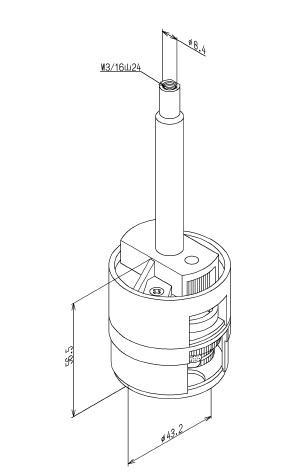 TOTO 定量止水ユニット TH168113R