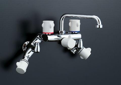 INAX 他熱源併用タイプ太陽熱温水器用2ハンドル混合水栓(13mm) SF-M415HS