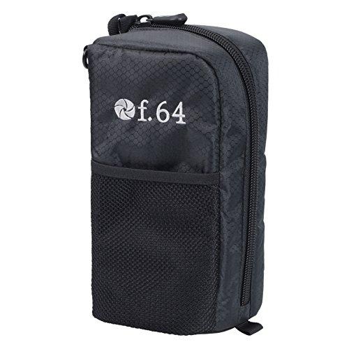 安売り f.64 ACCESSORIES レンズポーチLPL VF64LPL 正規品スーパーSALE×店内全品キャンペーン ブラック