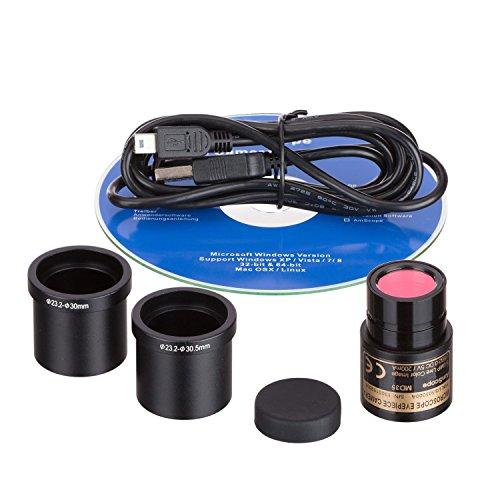 キャンペーンもお見逃しなく AmScope MD35 マイクロスコープ 顕微鏡 USB 日本未発売 イメージデジタル 並行輸入品 カメラ