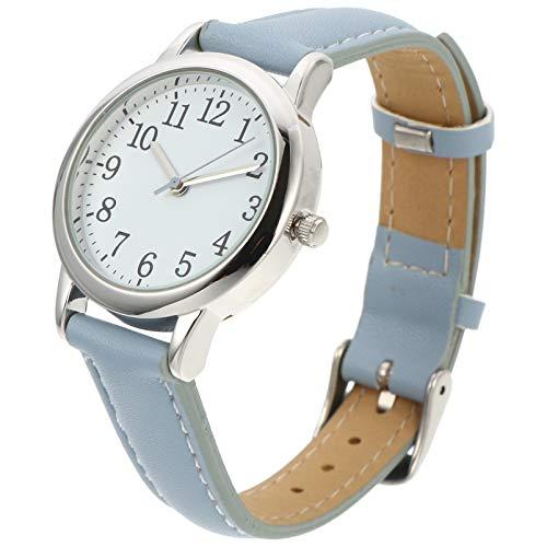 POPETPOP キッズ腕時計 学生腕時計 時計 公式ストア 腕時計 可愛い 永遠の定番 女の子 学生 ガールズ ブルー