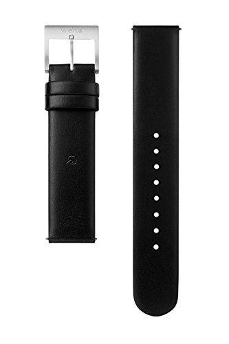 wena project wrist 配送員設置送料無料 leather WC-18E0N 18mm セール開催中最短即日発送 Black B