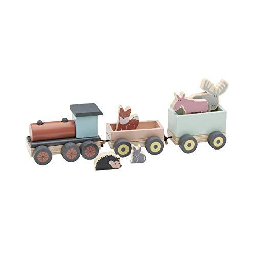 Kids Concept(キッズコンセプト) 木製アニマル列車セット
