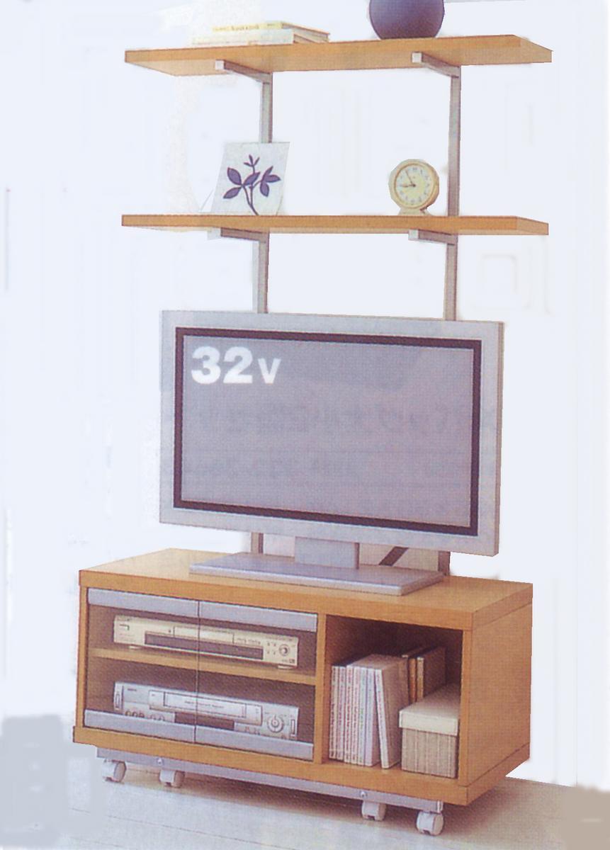上棚付TVワゴン(コーナー兼用)