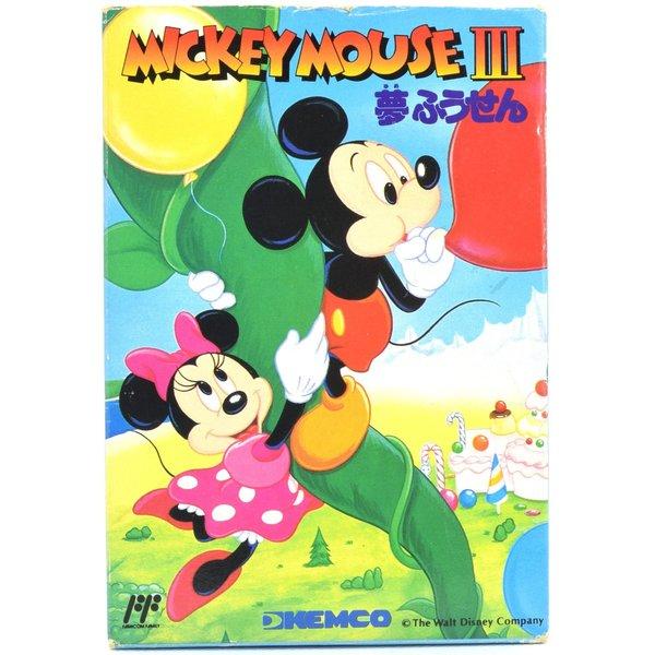 【中古】 FC ミッキーマウス3 夢風船 箱説付 ファミコン ソフト