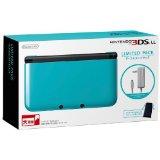 【送料無料】【中古】3DS ニンテンドー3DS LL リミテッドパック ターコイズXブラック 本体 任天堂