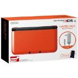 【送料無料】【中古】3DS ニンテンドー3DS LL リミテッドパック オレンジXブラック 本体 任天堂