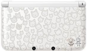 【送料無料】【中古】3DS ニンテンドー3DS LL モンスターハンター4 スペシャルパック (アイルーホワイト) 本体