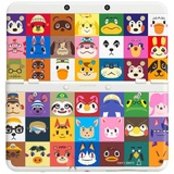 【送料無料】【中古】3DS New ニンテンドー キセカエプレートパック どうぶつの森 本体 任天堂(箱説付き)