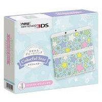 【送料無料】【中古】3DS Newニンテンドー3DS きせかえプレートパック カラフルスター