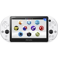 【送料無料】【中古】PlayStation Vita Wi-Fiモデル グレイシャー・ホワイト(PCH-2000ZA22) プレイステーション(箱説付き)