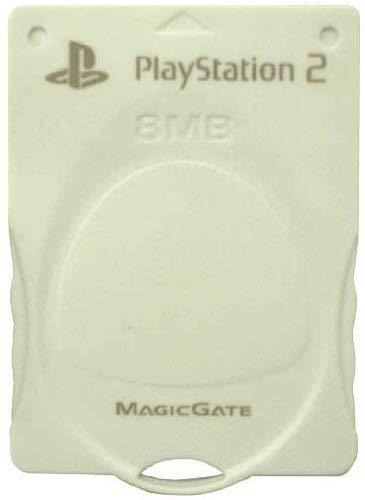 4906571442910 送料無料 中古 PS2 プレイステーション2 PlayStation2専用 CARD MAGIC 高級品 メモリーカード MEMORY フローラルホワイト GATE 驚きの価格が実現